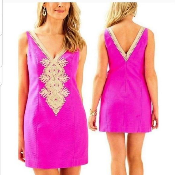 967211ced1dd0d Lilly Pulitzer Dresses   Junie Shift Berry Sangria Dress 12   Poshmark